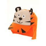 Casquette avec rabat - coton t.50 tigre - 473