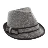 Trilby tweed  noir t.57 - 473