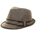 Trilby f tweed laine/poly -marron t.57 - 473