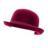 Chapeau melon 100% laine violet t.57 - 473