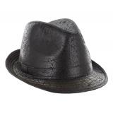 Trilby mixte vintage noir t.58 - 473
