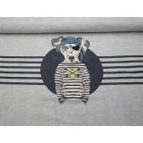 Panneau jersey mélangé stenzo 65 x 150 cm - 474
