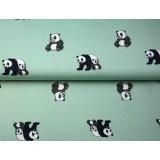 Tissu jersey imprimé Stenzo panda - 474