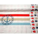 Panneau jersey Stenzo 65 x 150 cm sailor - 474