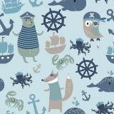 Tissu jersey Stenzo bord de mer - 474