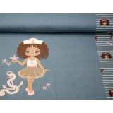 Panneau jersey Stenzo 65 x 150 cm sailor girls - 474