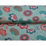 Tissu jersey imprimé Stenzo flowers - 474