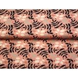 Tissu jersey imprimé Stenzo feuillages - 474