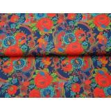 Tissu jersey imprimé Stenzo flower bird - 474