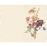 Panneau jersey 120 x 150 cm Stenzo bouquet vintage - 474