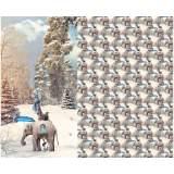 Panneau jersey stenzo safari d'hiver digital print - 474