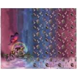 Panneau jersey stenzo fée butterfly digital print  - 474