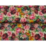 Jersey stenzo roses et pivoines digital print - 474