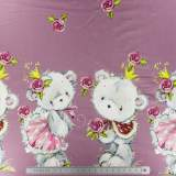 Jersey stenzo lovely teddy digital print double bo - 474