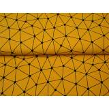 Jersey imprimé stenzo triangles bio coton 150cm - 474