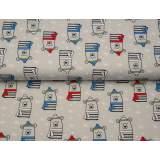 Jersey imprimé stenzo teddy winter bio coton 150cm - 474