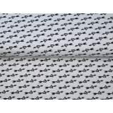 Jersey imprimé stenzo arrow bio coton 150cm - 474