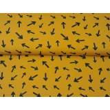 Jersey imprimé stenzo flèche bio coton 150cm - 474