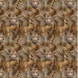 Jersey stenzo kaléïdoscope tigre digital print - 474