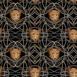 Jersey stenzo perles de léopard digital print - 474