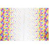 Jersey stenzo digital border print dots all sizes - 474