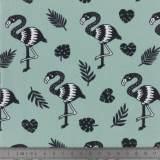 Jersey Stenzo print flamingo - 474
