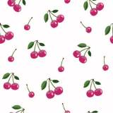 Jersey Stenzo print small cherries - 474