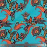 Jersey Stenzo print paisley flowers - 474