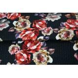 Viscose jersey Stenzo digital print roses - 474