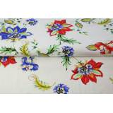 Jersey Stenzo digital print paisley flowers - 474