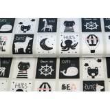 Tissu Stenzo popeline de coton imprimée - 474