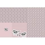 Tissu Stenzo panneau de jersey impression digitale - 474