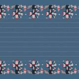 Tissu Stenzo impression double-bord - 474