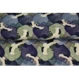 Tissu Stenzo jersey impression intégrale - 474