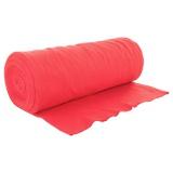Bord côte jersey tubulaire rouge laize de 35cm - 474
