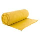 Bord côte jersey tubulaire moutarde laize de 35cm - 474