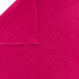 Tissu Stenzo sweat coton uni framboise 160cm - 474