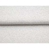 Tissu Stenzo sweat mélangé chiné gris 150cm - 474