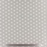 Tissu stenzo jersey origami gris - 474
