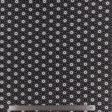 Tissu stenzo jersey origami noir - 474