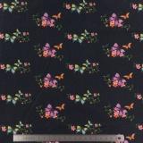 Tissu stenzo jersey fleur romantique - 474