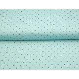 Tissu Stenzo jersey des petits pois mm 150cm - 474