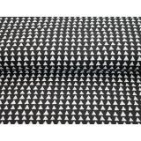 Tissu Stenzo jersey bio triangle bicolore 150cm - 474