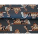 Tissu Stenzo jersey dp les amis du lion 150cm - 474