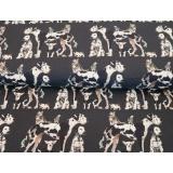 Tissu Stenzo jersey dp chien en ville 150cm - 474