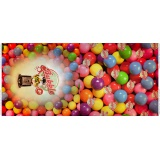 Panneau jersey dp bubblegum 120x150cm - 474