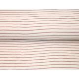 Tissu Stenzo éponge pilou rayé 150cm - 474