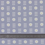 Tissu Dashwood coton bloom bleu gris - 476