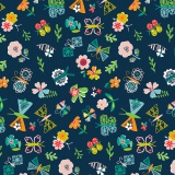 Tissu Dashwood coton club tropicana - 476