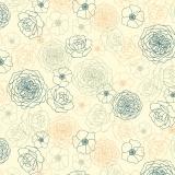 Tissu Dashwood coton jardin anglais - 476